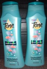 Lot of 2 Tone Ocean Therapy Body Wash Deep Sea Extracts & Pearl Essence