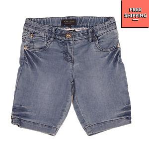 TWIN-SET SIMONA BARBIERI Denim Shorts Size 6Y / 116CM Stretch Faded