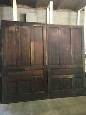 "~ Antique Victorian Pocket Doors Wedding Prop 108"" X 97"" Architectural Salvage"