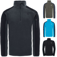 THE NORTH FACE TNF Glacier Delta 1/4 Zip Polaire Pull-Over pour Homme Nouveau