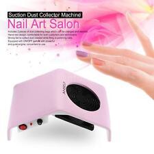 30W Nail Art Salon Suction Dust Collector Machine Vacuum Cleaner Salon Tool N6F6