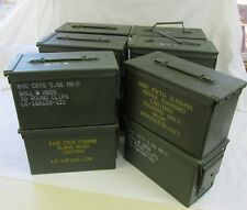 12 Pack 50 Cal Ammo Can Box  Army Military M2A1 Metal Storage 5.56