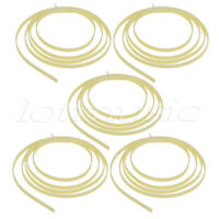 5* Cream Twill Quality 5 Feet Celluloid Guitar Binding Purfling 6 width x1.5 mm