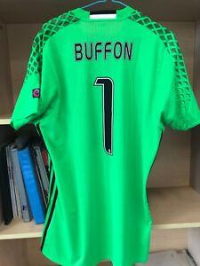 Juventus 2016/17 green GK jersey shirt maglia match prepared Gianluigi Buffon
