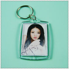 5 PCS Passport Size Photo Picture Blank Key Ring Keyring Keychain Baby Design