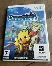 FINAL FANTASY FABLES CHOCOBOS DUNGEON - NINTENDO WII - PAL / FR - BRAND NEW!