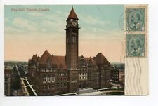 CANADA carte postale ancienne TORONTO  9 city hall