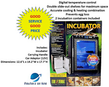 New listing Exo Terra Thermoelectric Reptile Egg Incubator Free Shipping Sale