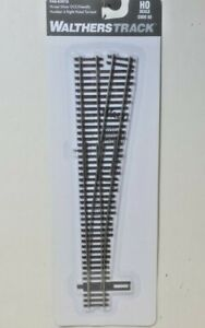 Walthers Proto Code 83 Nickel Silver DCC Friendly No 6 Turnout Right Hand 83018