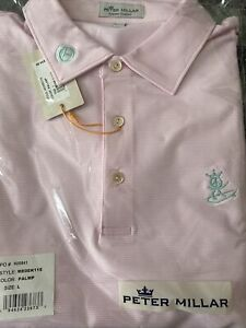 Scotty Cameron Gallery Gol Exclusive Peace Surfer Polo Large L Circle T Pink New