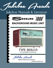 Seeburg 1000 Bmu10 Rare Engineers Manual, Jukebox Arcade Exclusive!