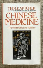 Chinese Medicine The Web That Has No Weaver Ted Kaptchuk Healing Diagnostic Book