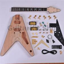 GuitarKit.Store Flying V guitar DIY Electric Guitar Kit / DIY guitar (GTSFV-628)