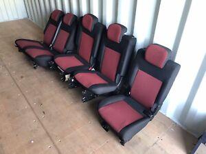 Fiat Doblo Rear Seats