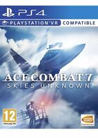 Ace Combat 7: Skies Unknown Ps4 Game Ps VR Compatible PlayStation 4 VII