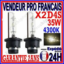 2 AMPOULES D4S AU XENON 35W KIT HID 12V LAMPE RECHANGE D ORIGINE FEU PHARE 4300K
