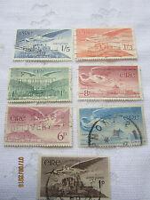 IRELAND 1948-65 USED SET OF 7 AIR S G 140- 143b    17092