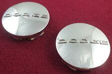 Dodge Motors Wheels Chrome Custom Wheel Center Caps Set of 2 # 60625/5PN49TRMAA
