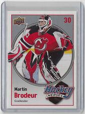2008-09 MARTIN BRODEUR UPPER DECK HOCKEY HEROES #HH-14