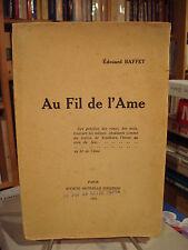 Édouard BAFFET Au fil de l'Âme 1922 E.O.
