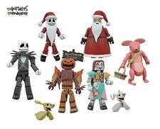 Nightmare Before Christmas Minimates Blind Bag Series 2 Complete Set of 8