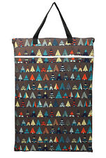 Large Hanging Wet Dry Pail Bag Cloth Diaper Insert Nappy Laundry Teepee