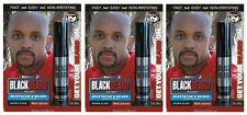 Blackbeard Color de Cabello Barba Patillas Bigote Cejas Mascara Marrón/Negro