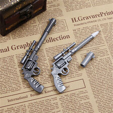 Novelty Pens Gun Shape Ballpoint Stationery Pen Student Office Creative MO