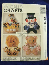 UNCUT MCCALLS #7641 DREAM DELIGHTS TREAT BASKETS  SEWING PATTERN  GIFTS  BASKETS