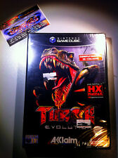 TUROK  EVOLUTION NUOVO SIGILLATO SEALED NINTENDO GAMECUBE RARO GC WII