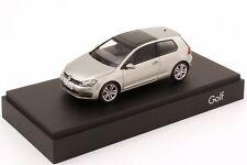 VW VOLKSWAGEN GOLF VII 2012 3 DOORS TUNGSTENE SILVER METAL HERPA 5G3099300B7W