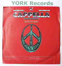 """CAPPELLA - Move On Baby - Excellent Condition 7"""" Single"""