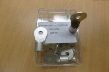 Copper Lugs Automotive -  35mm2 cable M6 Hole Box 15