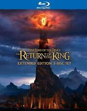 The Lord of the Rings The Return of the King Extended Edition 5-Disc Set Blu-ray