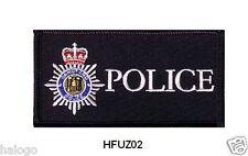 HOT FUZZ POLICE VEST PATCH - COMEDY - HFUZ02