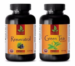 Fat loss energy pills - RESVERATROL – EXTRACT GREEN TEA COMBO - resveratrol red