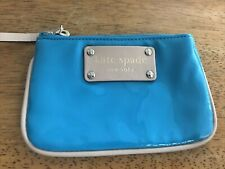 Kate Spade Blue Patent Leather Coin Purse