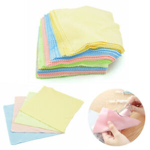 Microfiber Phone Screen Camera Lens Glasses Cleaning Cloth Square Cleaner
