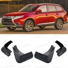 4 Mud Flaps Splash Guards Fender Car Mudguard for Mitsubishi Outlander 2016-2019