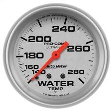 "Auto Meter 4431 2-5/8"" Ultra-Lite Mechanical Water Temp Gauge 140-280 °F NEW"