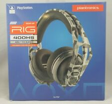 Plantronics RIG 400 HS Gaming Headset for Playstation 4 PS4 PC - Arctic Camo