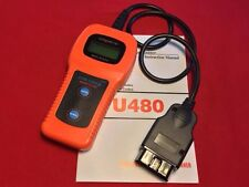 Code Reader Tool U480 OBD2 OBDII EOBD Check Engine CAN-BUS Auto Scanner Trouble