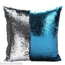 Magical Mermaid Pillow Cover 2 Color Throw Home Decor Sequins Sofa Couch Cushion