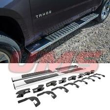 14-17 GMC Sierra Chevy Silverado Double Cab Chrome Side Step Bar Running Boards
