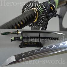 With Real Same Saya samurai Sword Clay Tempered T1095 High Carbon Steel Katana