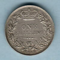 Great Britain. 1883 Shilling..  Part Lustre - gVF