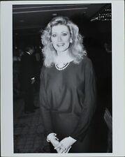 Nancy Stafford (American Actress) ORIGINAL PHOTO HOLLYWOOD Candid