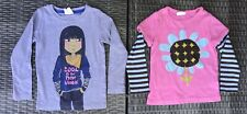 Lot Of 2 Two Mini Boden Longsleeve Shirts Top  Size 3 - 4 Years