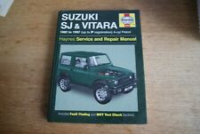 Haynes Service and Repair Manual 1942 - Suzuki SJ & Vitara 1982 to 1997