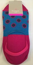 Paul Smith Women Sock Made In Italy Multi Large Spots Blue
